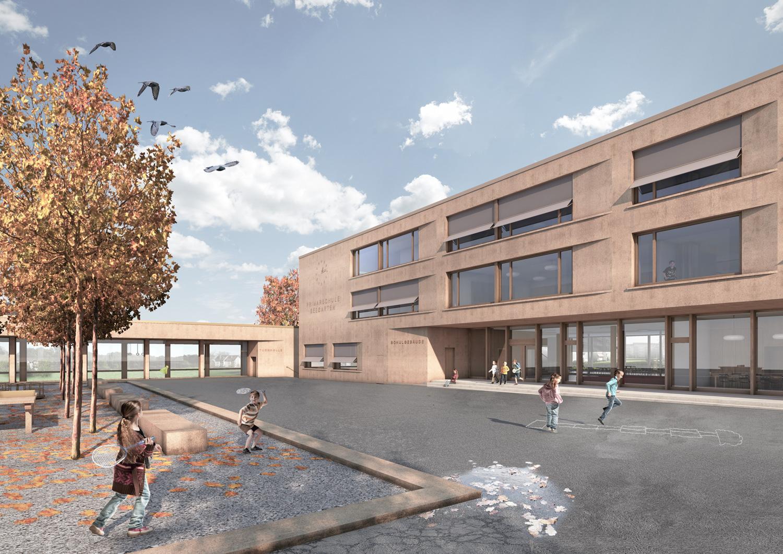 2. Bild zum Projekt 'Schulhaus Seegarten Arbon – 2. Rang'