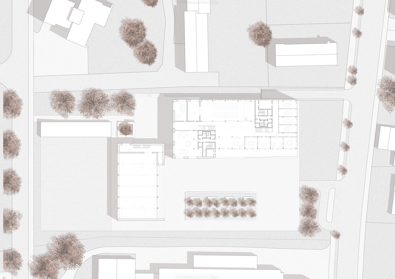 8. Bild zum Projekt 'Schulhaus Seegarten Arbon – 2. Rang'