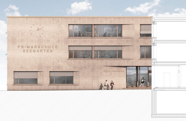 6. Bild zum Projekt 'Schulhaus Seegarten Arbon – 2. Rang'