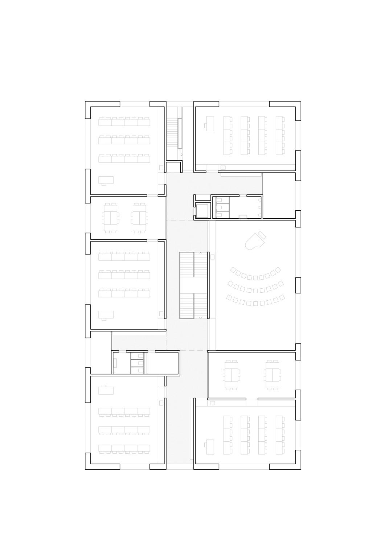 7. Bild zum Projekt 'Schulanlage Riedmatt, Zug'