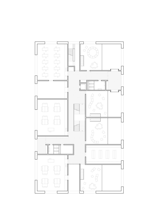 6. Bild zum Projekt 'Schulanlage Riedmatt, Zug'
