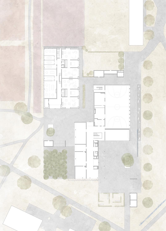 5. Bild zum Projekt 'Schulanlage Riedmatt, Zug'