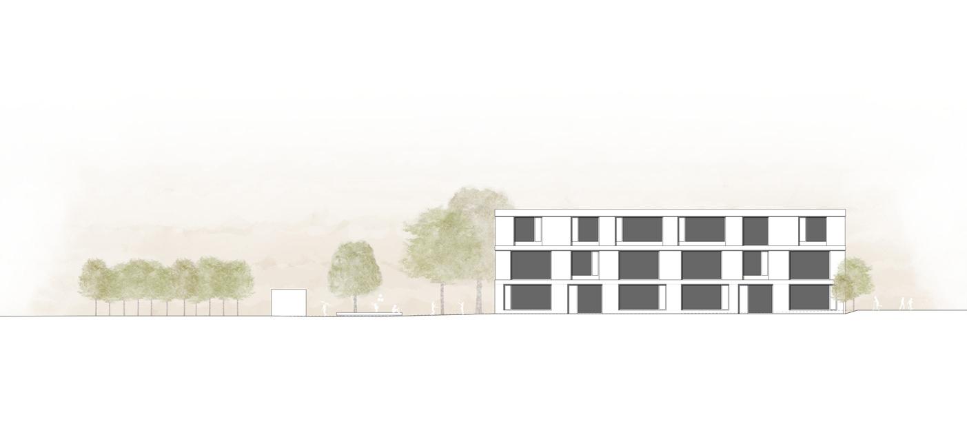 12. Bild zum Projekt 'Schulanlage Riedmatt, Zug'