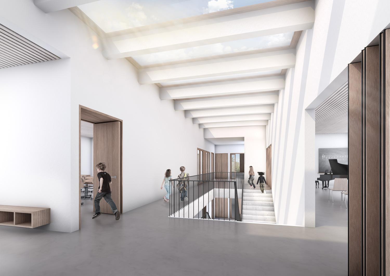 2. Bild zum Projekt 'Schulanlage Riedmatt, Zug'