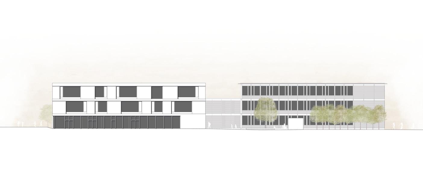 11. Bild zum Projekt 'Schulanlage Riedmatt, Zug'