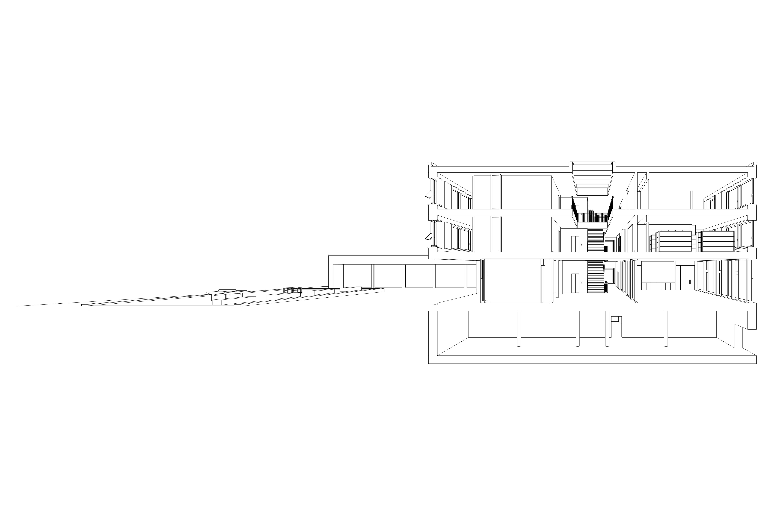 11. Bild zum Projekt 'Schulhaus Seegarten Arbon – 2. Rang'