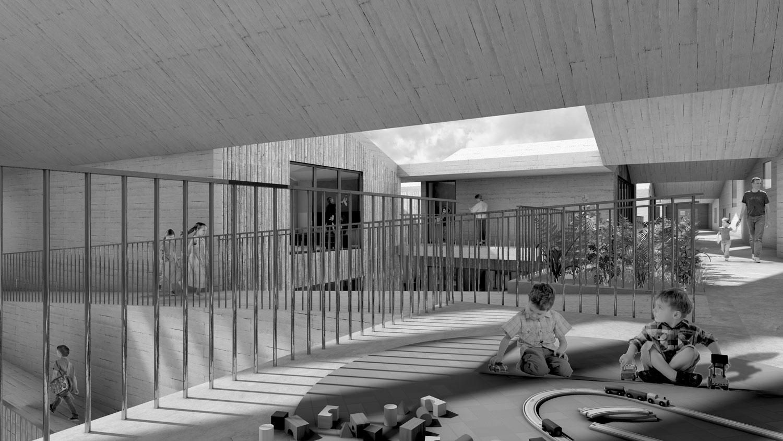 5. Bild zum Projekt 'Kindergarten Soacha Bogotá'