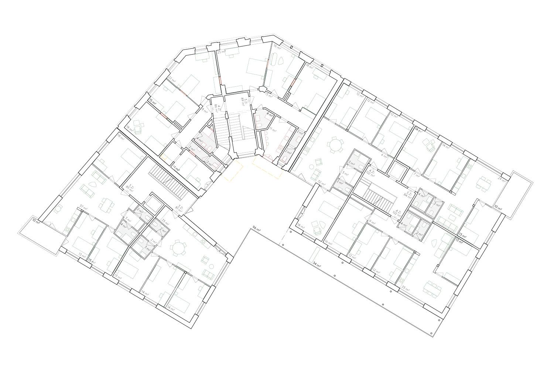 5. Bild zum Projekt 'Haus Eber Zürich'