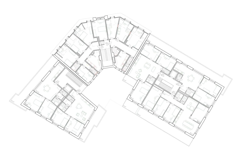 6. Bild zum Projekt 'Haus Eber Zürich'