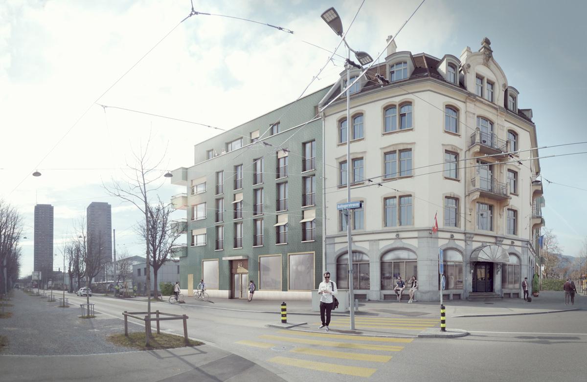 1. Bild zum Projekt 'Haus Eber Zürich'