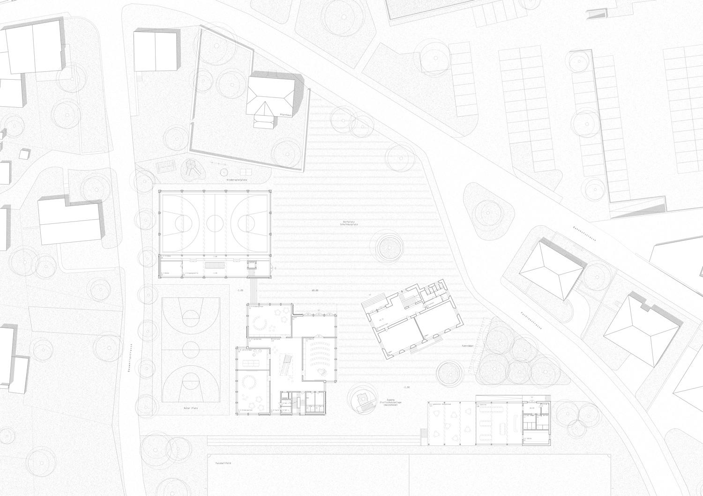 Schule/Mehrzweckhalle Salgesch