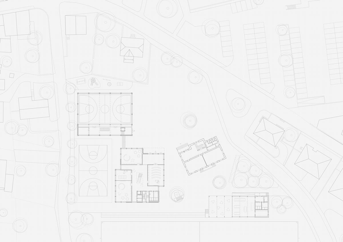 8. Bild zum Projekt 'Schule/Mehrzweckhalle Salgesch'