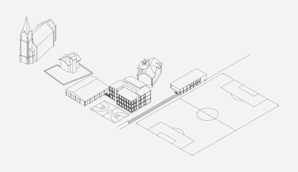 15. Bild zum Projekt 'Schule/Mehrzweckhalle Salgesch'
