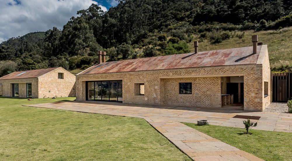 2. Bild zum Projekt 'Casa Amanguiri, Bogotá'
