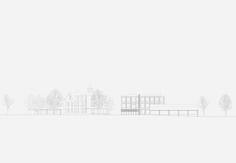 11. Bild zum Projekt 'Schule/Mehrzweckhalle Salgesch'