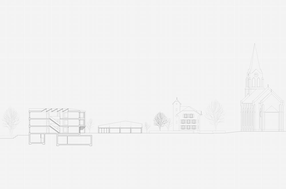 12. Bild zum Projekt 'Schule/Mehrzweckhalle Salgesch'