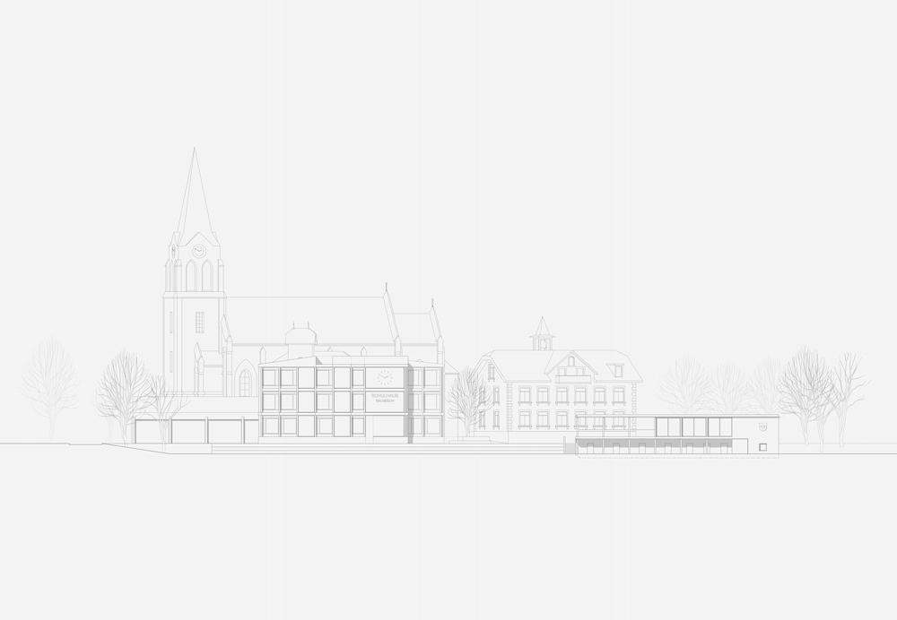 13. Bild zum Projekt 'Schule/Mehrzweckhalle Salgesch'