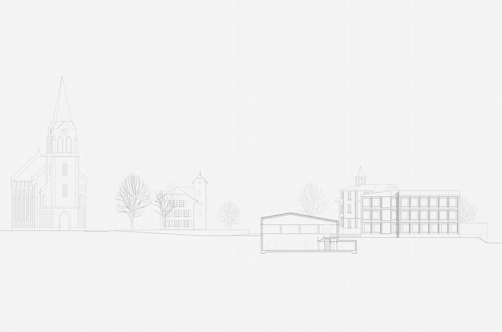 14. Bild zum Projekt 'Schule/Mehrzweckhalle Salgesch'