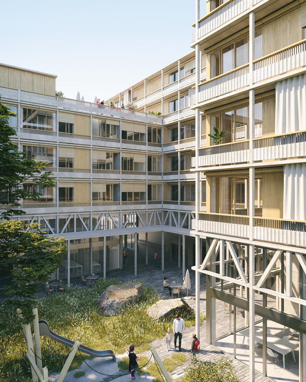 2. Bild zum Projekt 'Hofackerstrasse Muttenz'