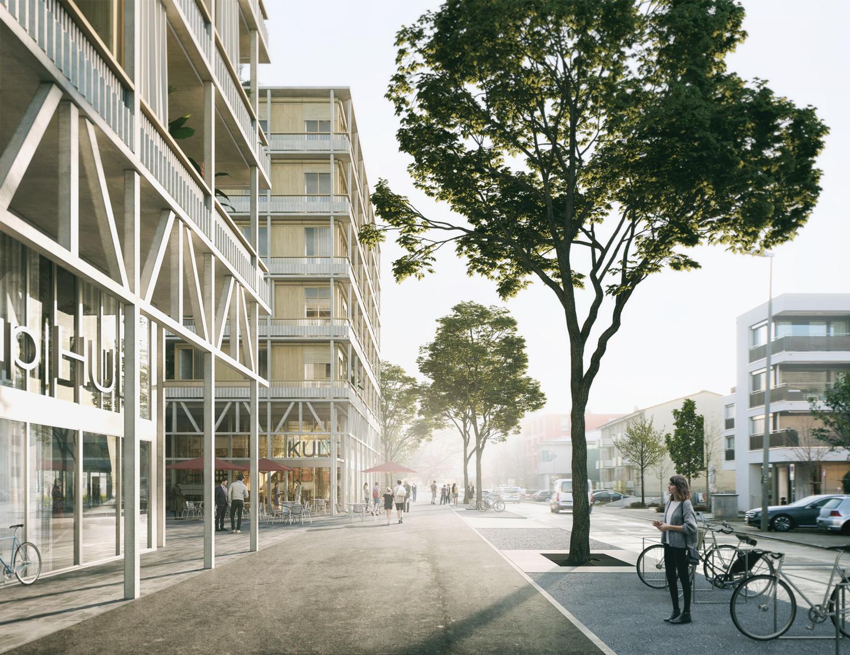 5. Bild zum Projekt 'Hofackerstrasse Muttenz'
