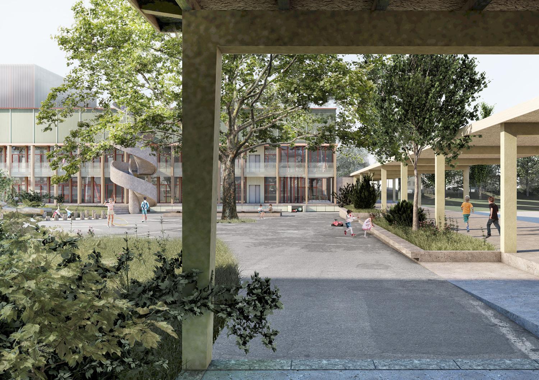 2. Bild zum Projekt 'Volksschule Stöckacker Bern'