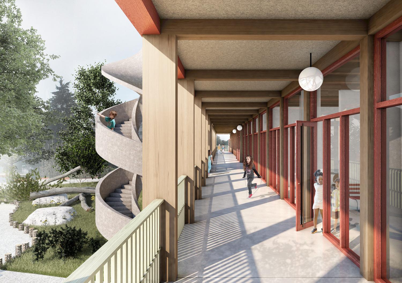 3. Bild zum Projekt 'Volksschule Stöckacker Bern'