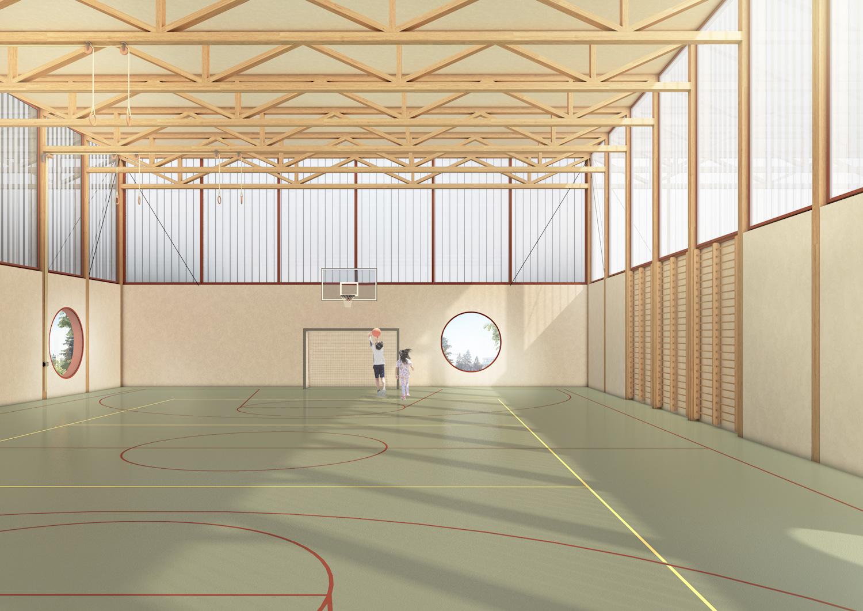4. Bild zum Projekt 'Volksschule Stöckacker Bern'