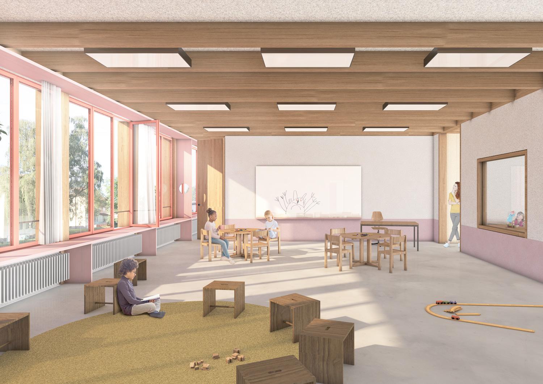 5. Bild zum Projekt 'Volksschule Stöckacker Bern'