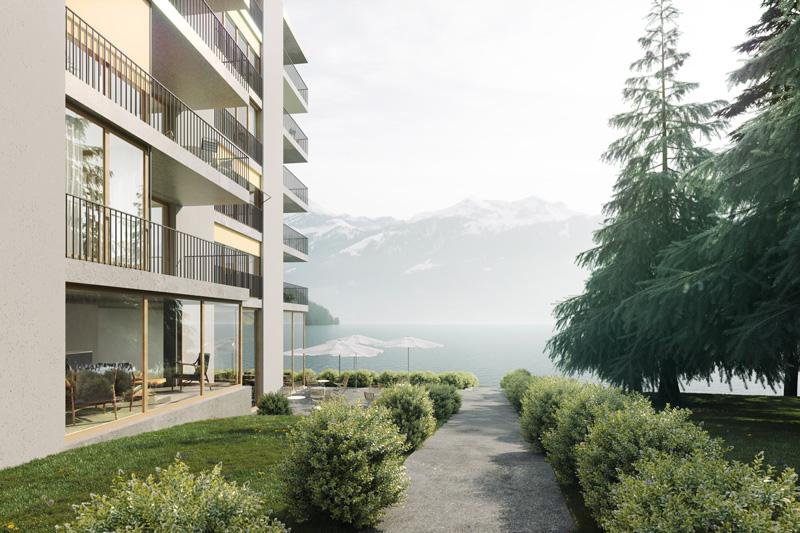 3. Bild zum Projekt 'Alterswohnen Thunersee'