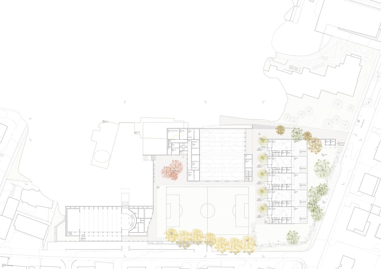 4. Bild zum Projekt 'Erweiterung Schulanlage Widen'