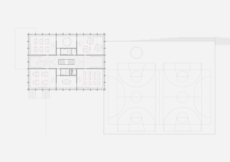 6. Bild zum Projekt 'Erweiterung Schulanlage Widen'