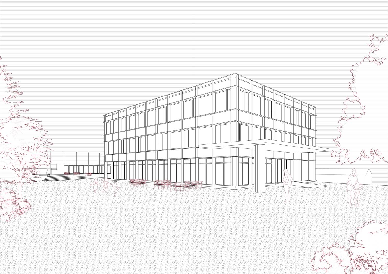 11. Bild zum Projekt 'Erweiterung Schulanlage Widen'